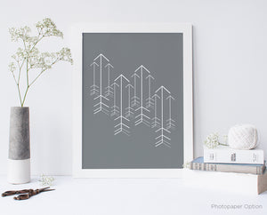Arrow Design Wall Art