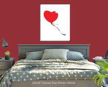 Heart-shaped Balloon Wall Art