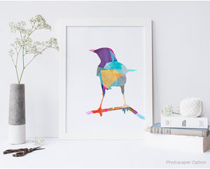 Bird Watercolor Series 2 Wall Art