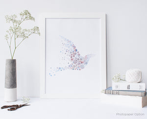 Bird Watercolor Series 4 Wall Art