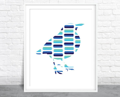 Bird Watercolor Series 3 Wall Art