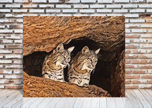 Bobcat Cave Wall Art