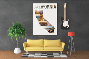 California State Wall Art