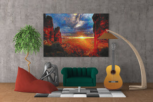 Sedona Canyon Wall Art