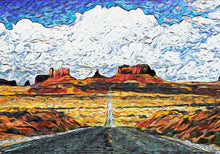 Monument Valley Highway Wall Art