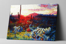 Desert Sunset Wall Art