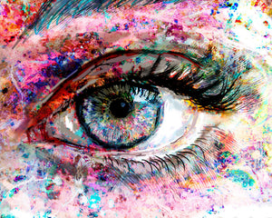 Vivid Eye Wall Art