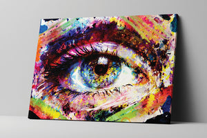 Colorful Eye Wall Art