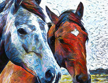 Horses Trio Wall Art