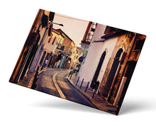 Cyprus Street Art Print, Sunset Road Photograph, Travel Photography
