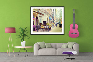 Denver Street Scene Photo, Street Art Print, Daytime Image, Travel Photography
