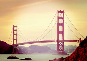 Golden Gate Bridge Photo, San Francisco Art, Landmark Photography