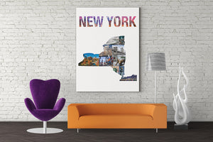 New York State Wall Art