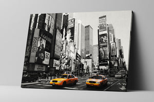 New York City Cabs 3 Wall Art