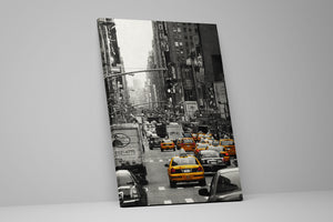 New York City Cabs 4 Wall Art