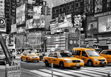 New York City Cabs 1 Wall Art