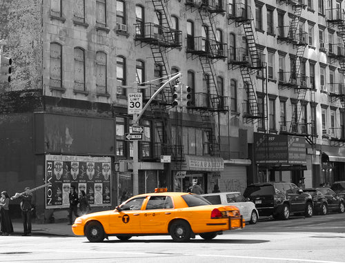 New York City Cabs 2 Wall Art