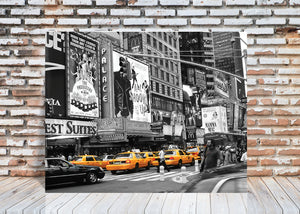 New York City Cabs 5 Wall Art