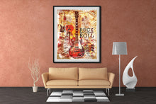 Rock and Roll Wall Art