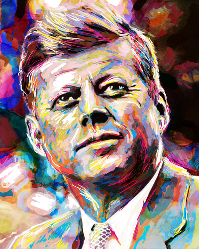 JFK Wall Art