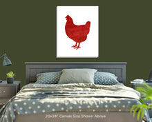 Red Rooster Wall Art