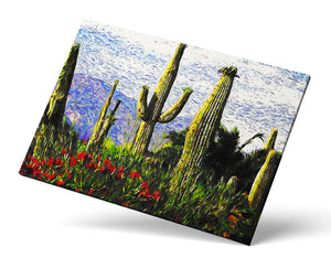 Saguaros Wall Art
