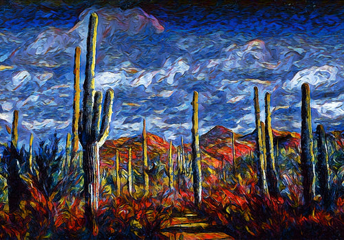 Saguaro National Park Wall Art