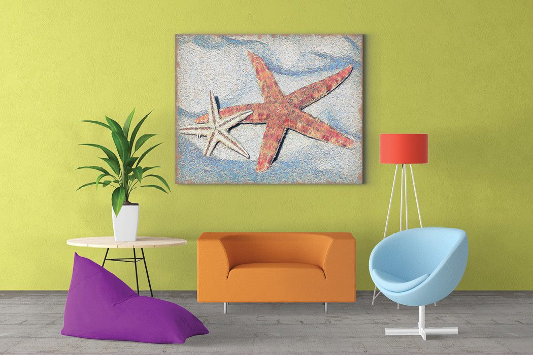 Starfish Wall Art – Castle and Rye