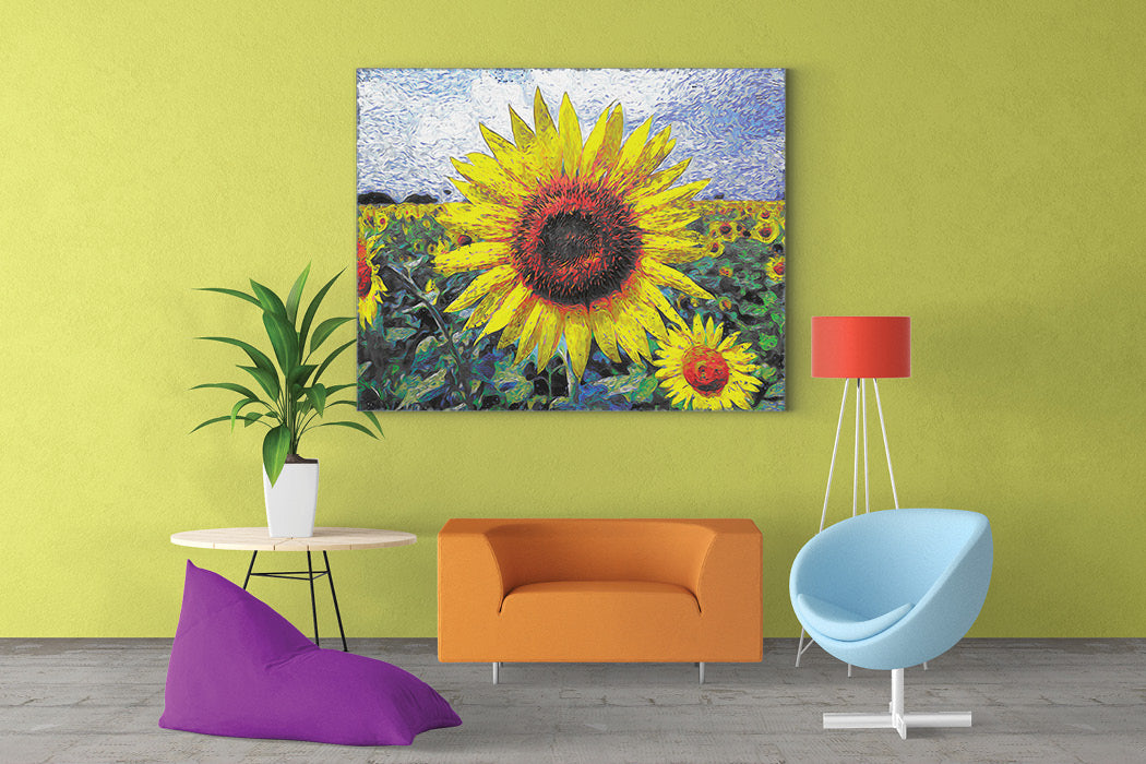 Sunflower Wall Art – Castle and Rye