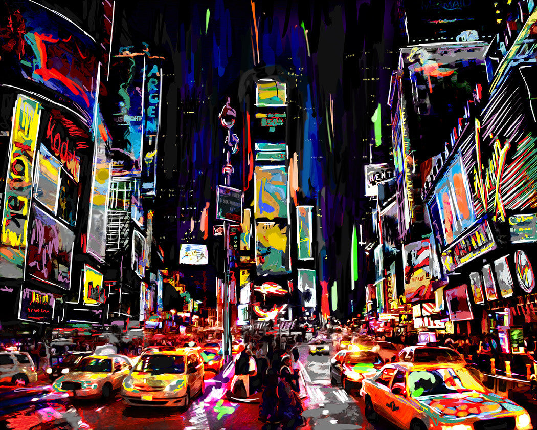 Times Square Wall Art