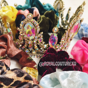 Velvet Scrunchie by Royal Couture Xo