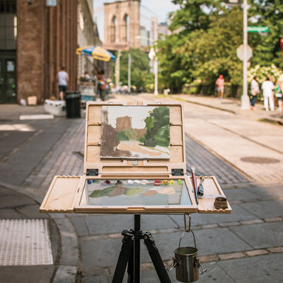 "u.go Plein Air | Anywhere Pochade Box (11""x14.5"")"