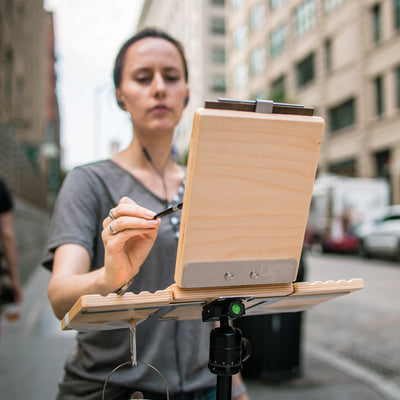 "u.go Plein Air | Anywhere Side Tray (4"" x 8"")"