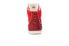 Red Ostrich Wolfgang Gieler Designer Luxury Footwear High Tops
