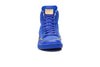 Blue Ostrich Wolfgang Gieler Designer Luxury Footwear High Tops