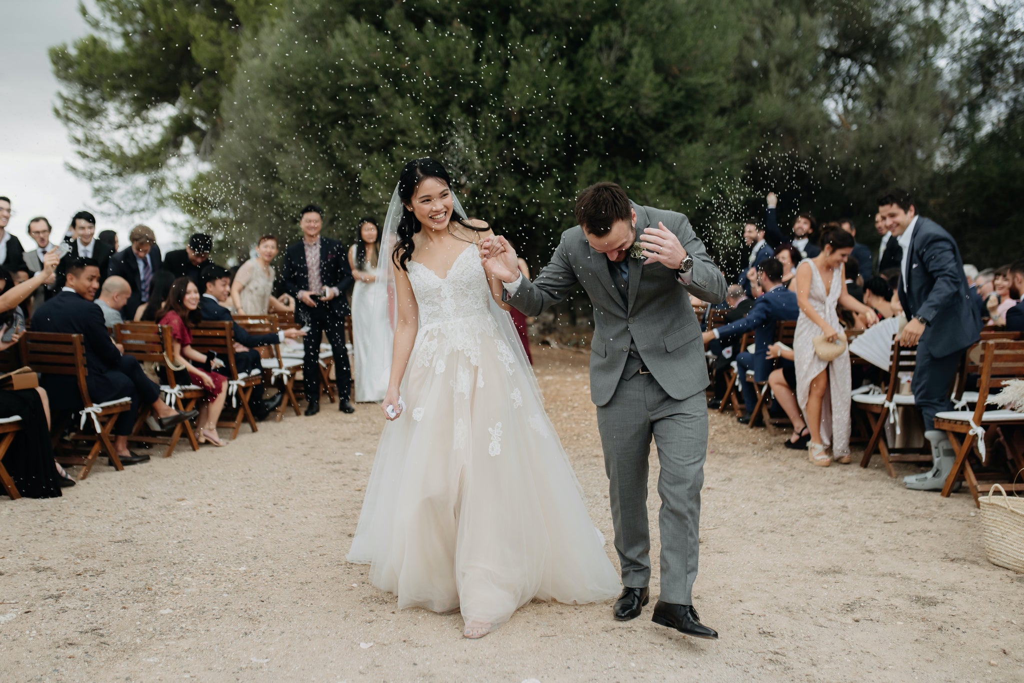 Real brides: A Singaporean bride with a Mallorca finca wedding