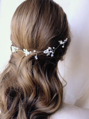 Handmade wedding hair vine for bohemian brides in Singapore & Hong Kong