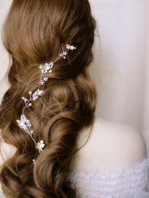 Bohemian hair vine for brides