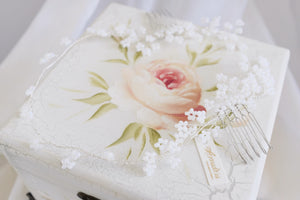 Singapore handmade wedding hair accessories for romantic brides
