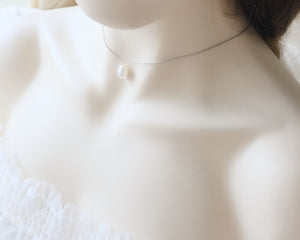Bridal pearl necklace handmade Singapore