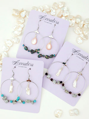 Fantine hoop earrings (Exclusive)