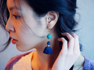 Arabella earrings in Turquoise
