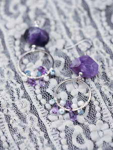 Isadora earrings in Amethyst (Exclusive)