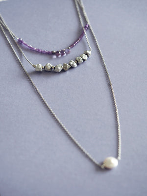 Lavinia necklace in Amethyst