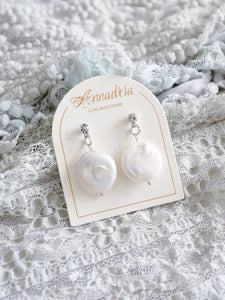 Thalia pearl drop earrings