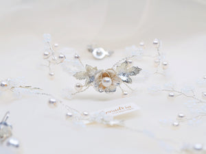 Vintage style bridal accessories handmade jewellery