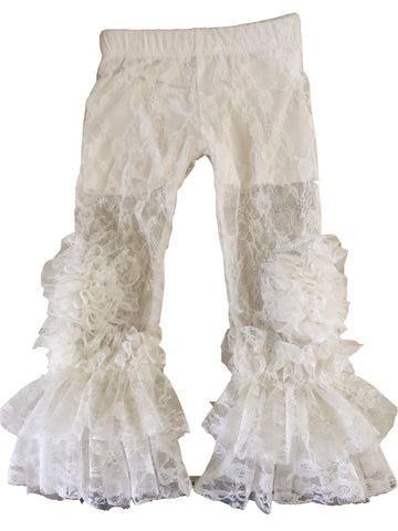 Peony Legging Ivory full lace with Cover up