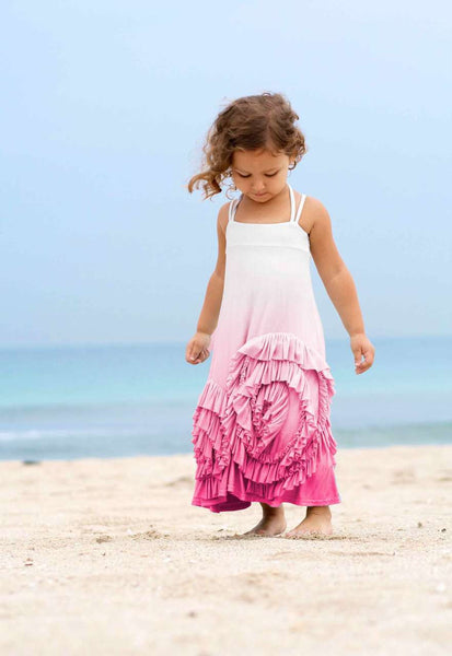 Full Bloom Maxi- Pink Dip