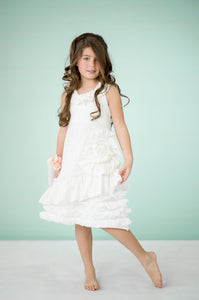 Blossom Dress- Ivory