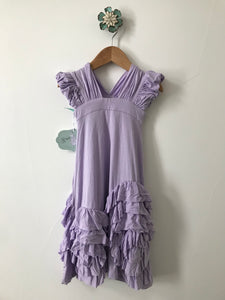 Rosy Ruffles Dress-Lavender Grace Dress